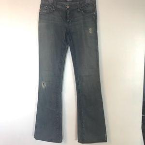 Rock & Republic Swarovski crystal jeans